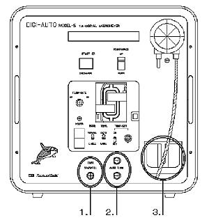 デジオートモデル5採水チューブ取り付け図